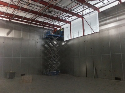 Shielded chamber EMC testing